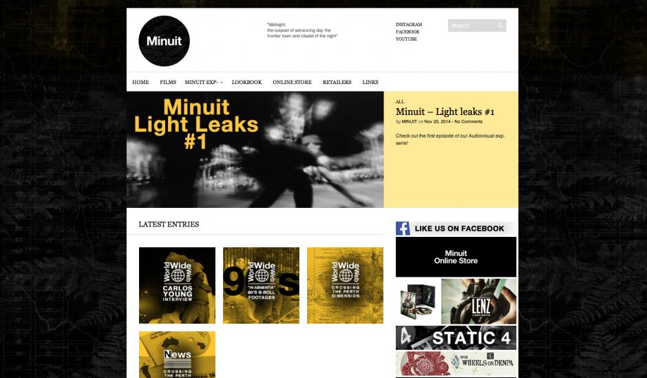 Minuit website