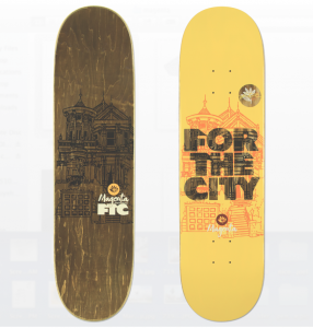 Magenta X FTC collab board