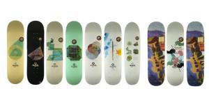 GEOMETRY SERIE - Magenta Skateboards winter 2015