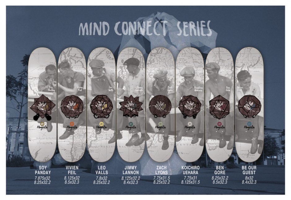 Magenta skateboards - sping 15 - catalogue