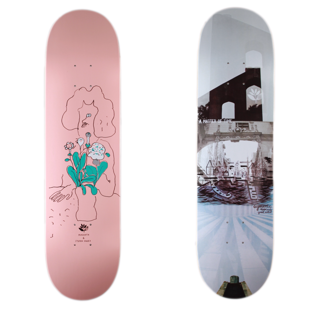 Stefan & Aymeric boards