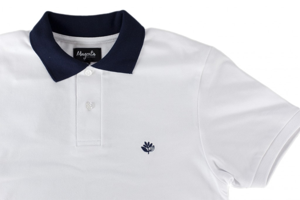 Blue Collar Polo White